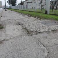 Przebudowa chodnika wzdłuż ul. Skłodowskiej-Curie