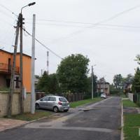 Wymiana słupów energetycznych na osiedlu