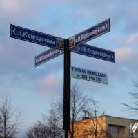 Nowe tabliczki z nazwami ulic
