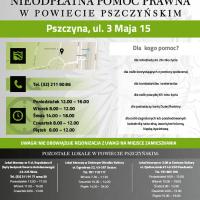 Bezpłatne porady prawne na terenie powiatu pszczyńskiego