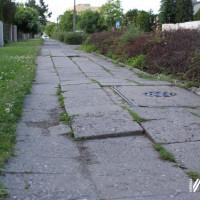 Inwestycje - chodnik przy ul. Skłodowskiej