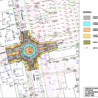 Duża inwestycja drogowa: Słoneczna, Dobrawy i rondo - najpierw projekt