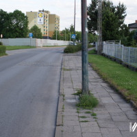 Chodnik między osiedlami Piastów i Kolonia Jasna będzie przebudowany!