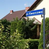 Kolejne tabliczki z nazwami ulic!