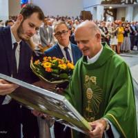 Parafianie pożegnali odchodzącego na emeryturę ks. Józefa Marka