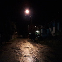 Nowe oświetlenie przy ul. Sznelowiec