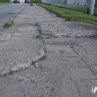 Przebudowa chodnika wzdłuż ul. Skłodowskiej-Curie - przetarg!