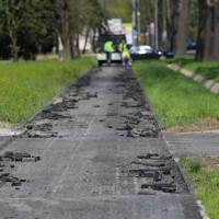 Poprawki na Cieszyńskiej, Zdrojowej i nowej ścieżce rowerowej
