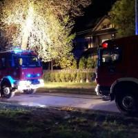 Pożar domu jednorodzinnego przy ul. Słonecznej