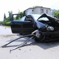 Kolejny wypadek na skrzyżowaniu Bratniej i Brylantowej