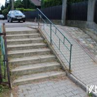 Przetarg na przebudowę schodów przy ul. Bursztynowej